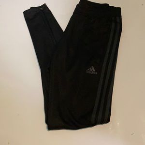 Adidas all black joggers